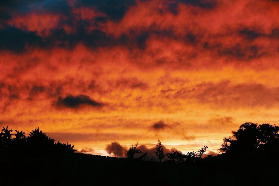 Coucher de soleil Ste Luce Martinique