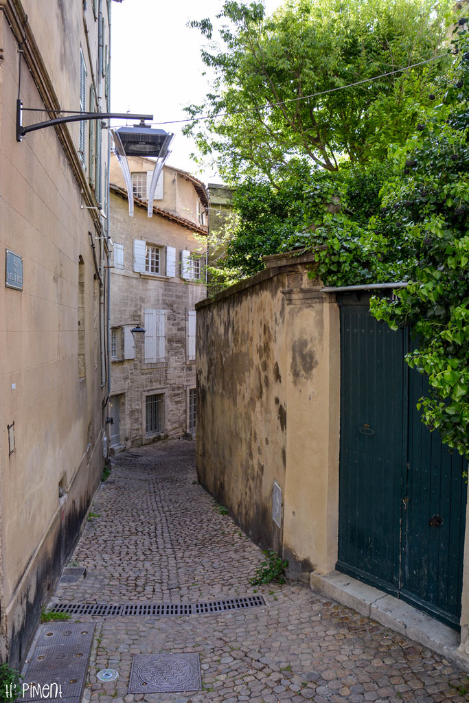 Petites ruelles d'Avignon