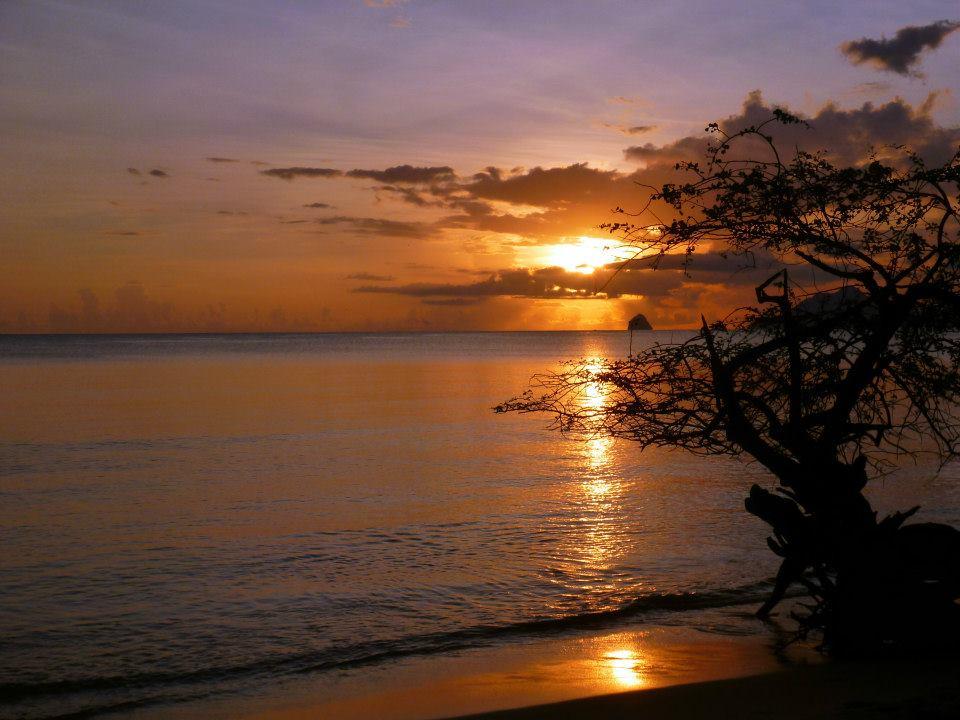 coucher soleil pointe marin