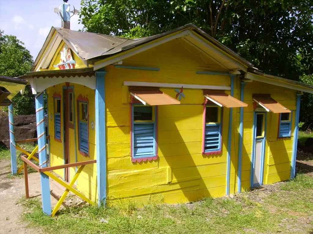 Maison du bagnard martinique