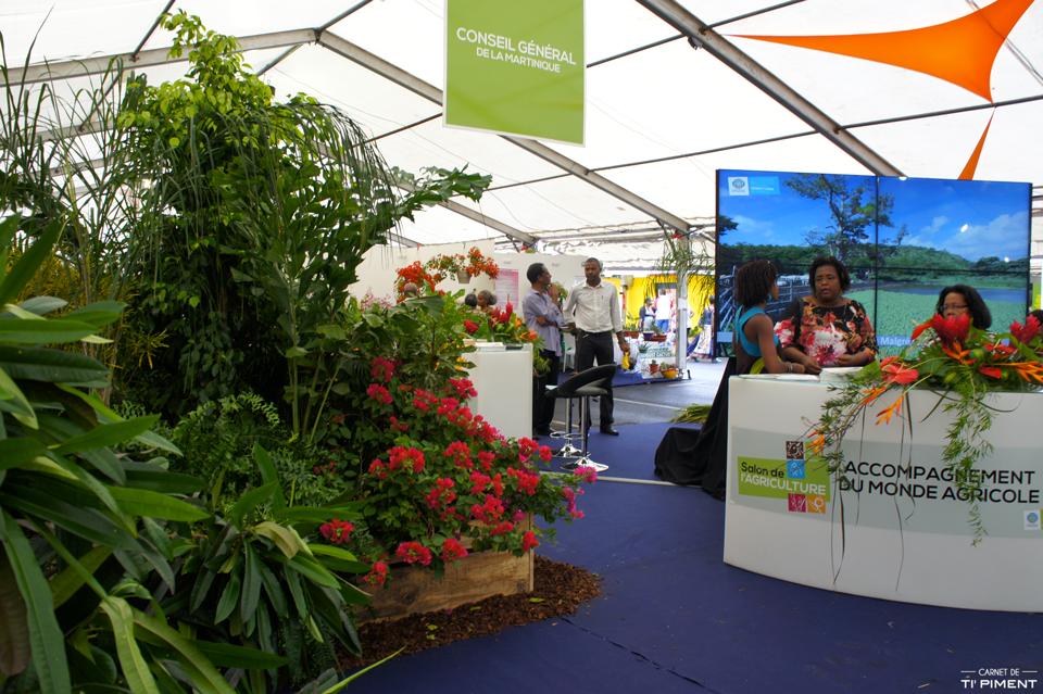 salon de l'agriculture en Martinique 2014